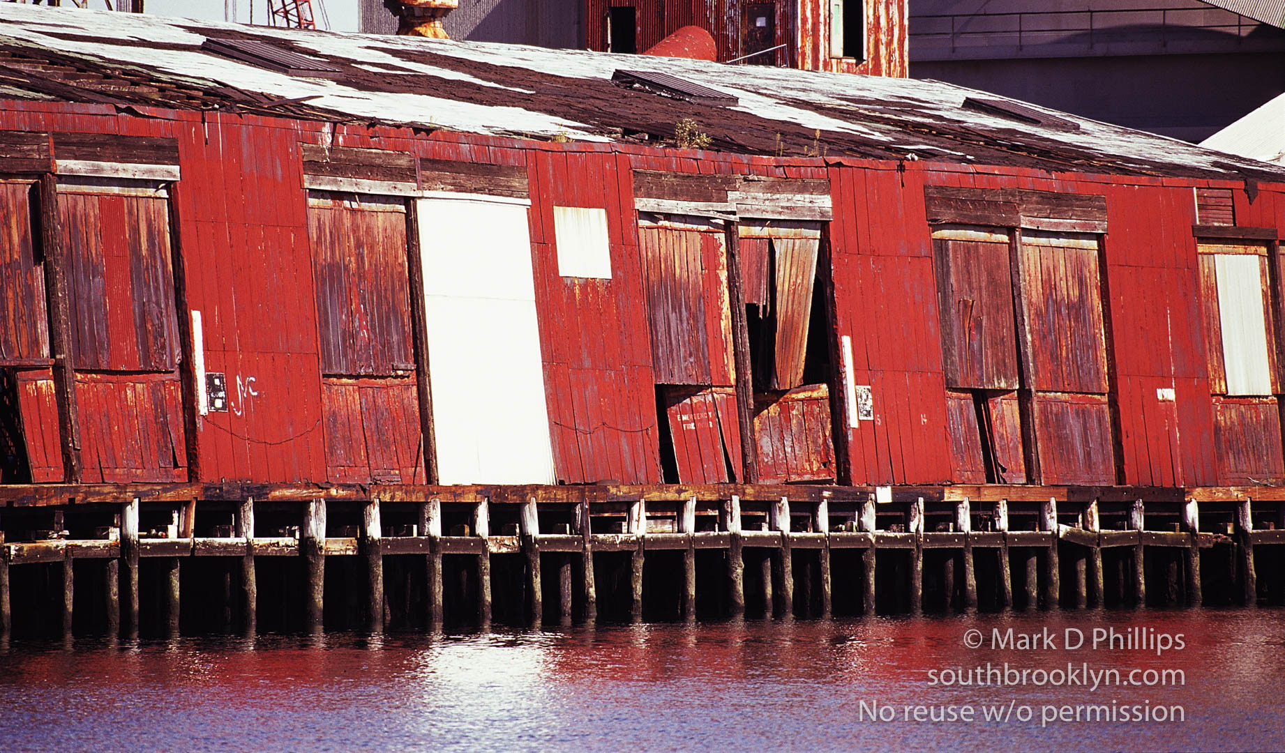 Red Metal Sheds