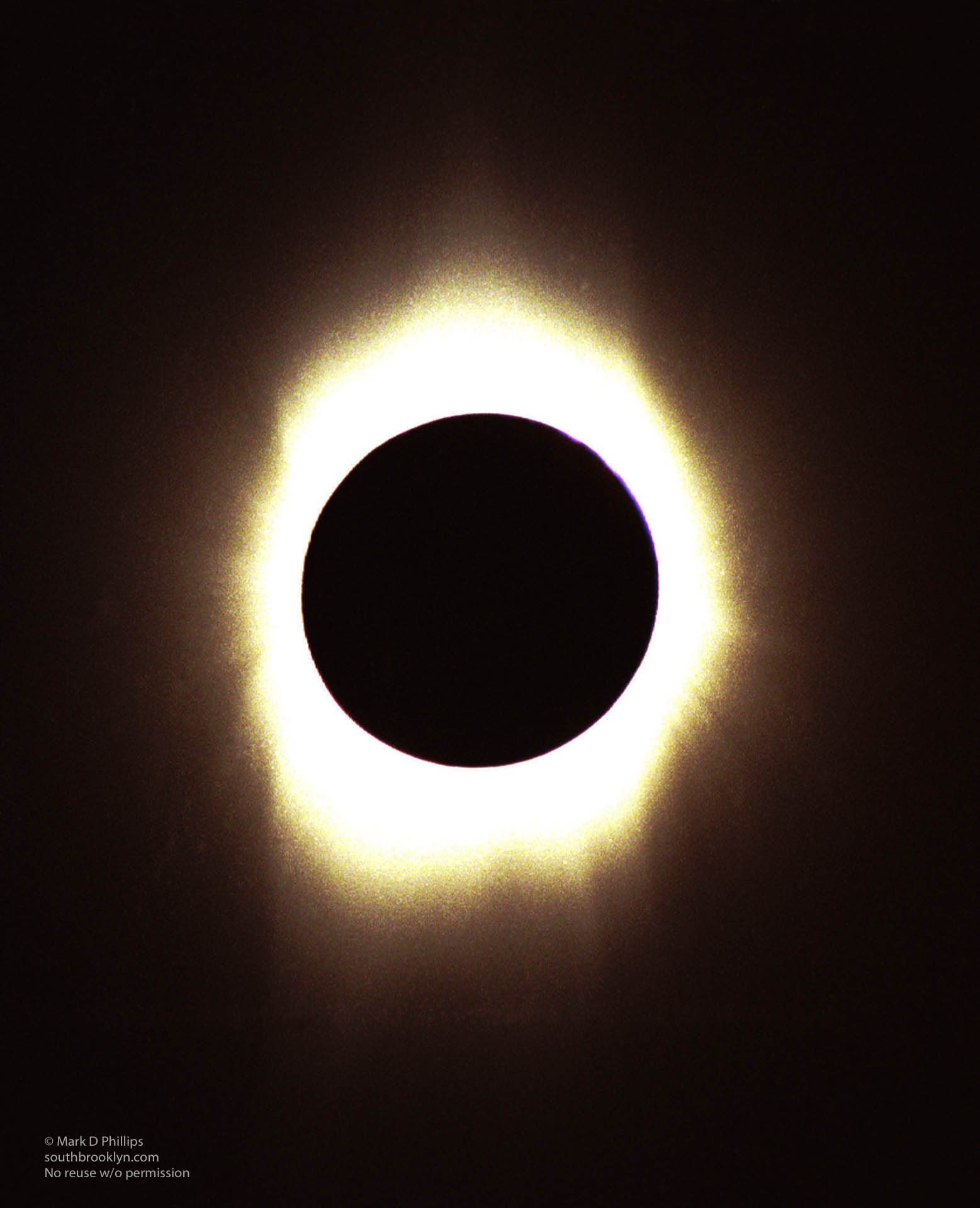 Total Solar Eclipse in Aruba on February 26, 1998
