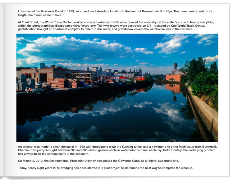 Page One of 30 Years of Gowanus by Mark D Phillips