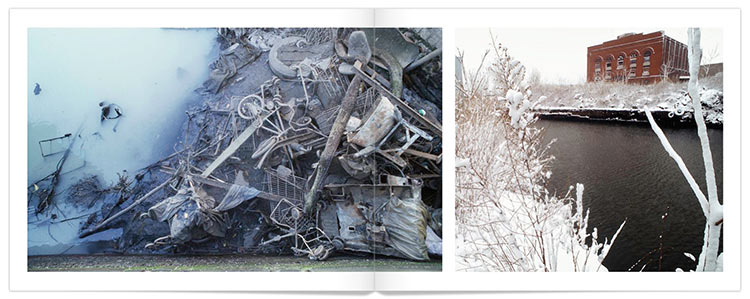 Pages Two and Three of 30 Years of Gowanus by Mark D Phillips